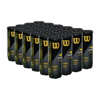 Wilson US Open Tennis Ball Case (24 x 3 Ball Tins) - Out of Stock - Notify Me