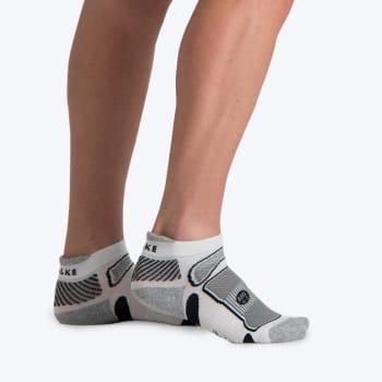 8332 L&R Ultralite Running sock 4-7 (White/Grey)