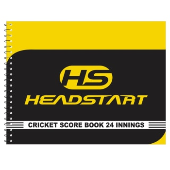 Headstart Cricket Scorebook - 24 Innings