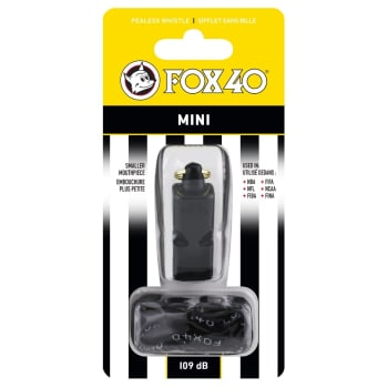 Fox40 Mini 109dB Whistle - Out of Stock - Notify Me