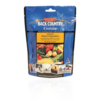 Back Country Cuisine Instant Mixed Vegetables 5 Serve Meal - Out of Stock - Notify Me