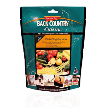 Back Country Cuisine Pasta Vegetariano 2 Serve Meal
