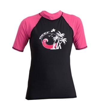 Reef Women's Rash Vest Short Sleeve