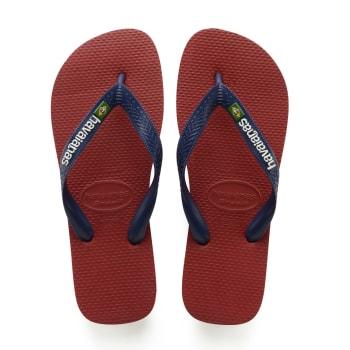 Havaianas Junior Brazil Logo Red Sandal