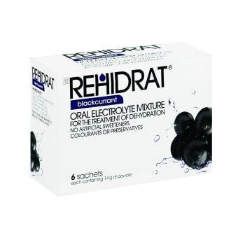 Rehidrat Blackcurrant 6 pack Supplement