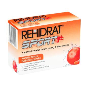 Rehidrat Sport 6 Pack (Naartjie + Lemon & Lime) Supplement