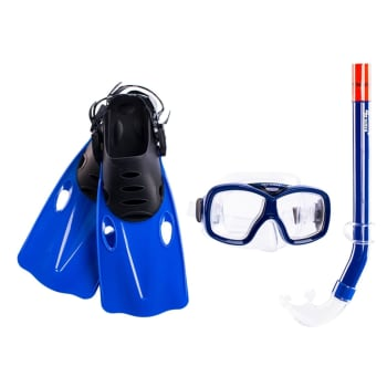 Wave Junior Dolphin Mask, Snorkel and Fin Set