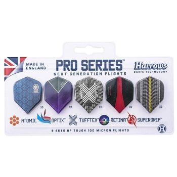 Harrows Pro Series Five Flight Pack