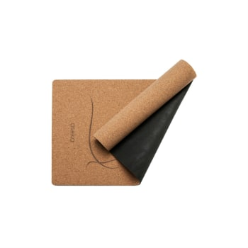Asoka Cork & Rubber Yoga Mat