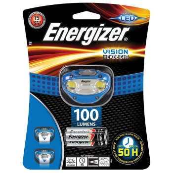 Energizer Vision Headlight 100 Lumens - Sold Out Online