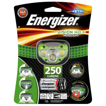 Energizer Vision Headlight 250 Lumens - Sold Out Online
