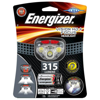 Energizer Vision Headlight 315 Lumens