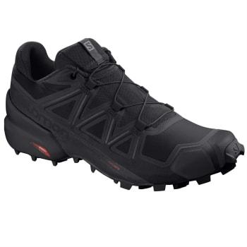 Salomon Men's Speedcross 5 Blk Trail Running Shoes