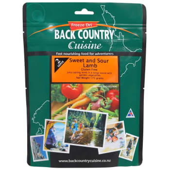 Back Country Cuisine Sweet & Sour Lamb 2 Serve meal - Out of Stock - Notify Me