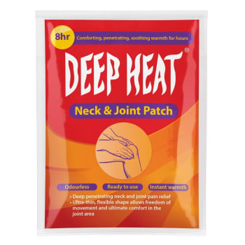 Deep Heat Neck & Joint 1PC Sport Patch - Find in Store