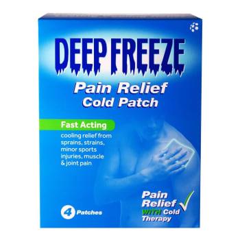 Deep Freeze Pain  4PC Sport Patch