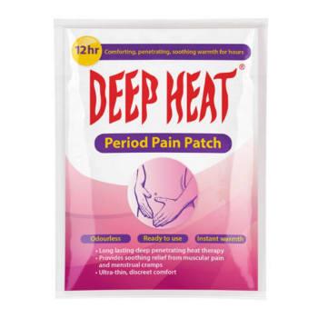 Deep Heat Period 3PC Sport Patch