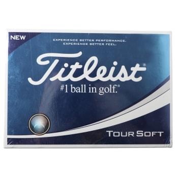 #Titleist Tour Soft 12 pack