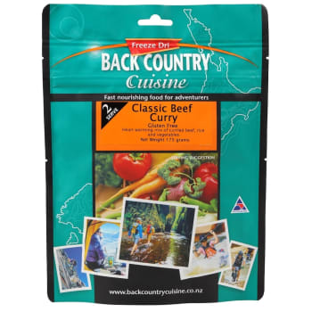 Back Country Cuisine Classic Beef Curry - Sold Out Online