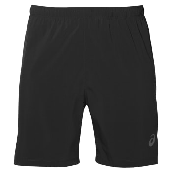 asics Men's Silver 2-in-1 7'' Run Short