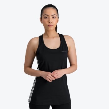 adidas Women's Design To Move 3-Stripe Tennis Top