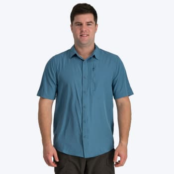 First Ascent Men's Coolstretch Short Sleeve Shirt - Sold Out Online