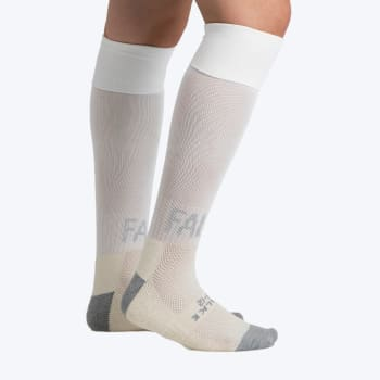 Falke White Practice Solid Socks 12.5-3.5