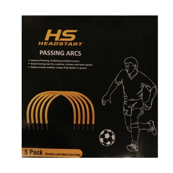 HS Headstart Passing arcs (Pack of 5) Skills Training Accessory