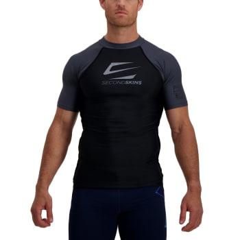 Second Skins Men's Iconic Short Sleeve Rashvest - Find in Store