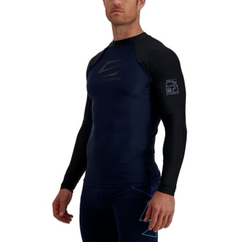 Second Skins Men's Iconic Long Sleeve Rashvest - Find in Store