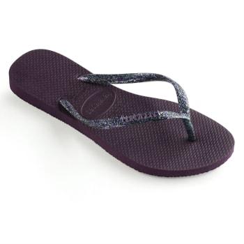 Havaianas Women's Slim Logo Metallic Sandals - Sold Out Online