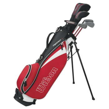 Wilson Red Package Set Junior 11 - 14YR - Find in Store
