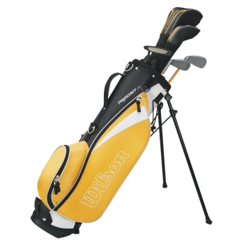 Wilson Yellow  Junior 8 - 11YR Golf Package Set - Find in Store