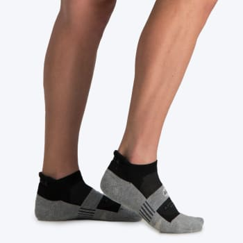 Falke 8358 Mns Advance Golf Hidden Socks 7-9 (Black/Grey)