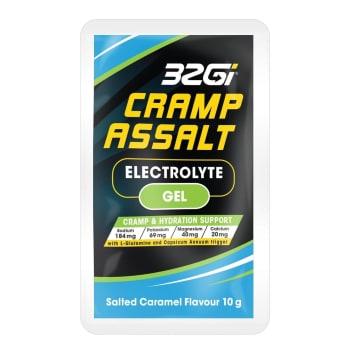 32GI Cramp Assalt Gel 10g Supplement