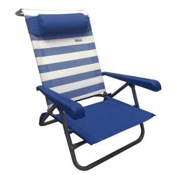 Natural Instincts Steel Recliner Beach Chair - Find in Store
