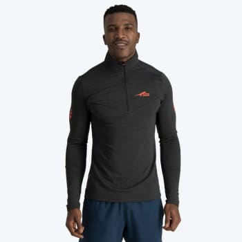 First Ascent Men's X-trail 1/4 Zip Long Sleeve Run Top