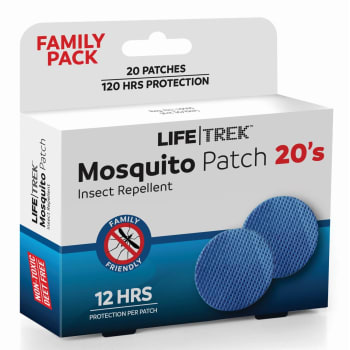 Lifetrek Mosquito Patch 20's Family Pk