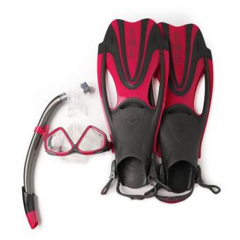 Aqualung Senior Hawkeye  Mask, Snorkel and Fin Set
