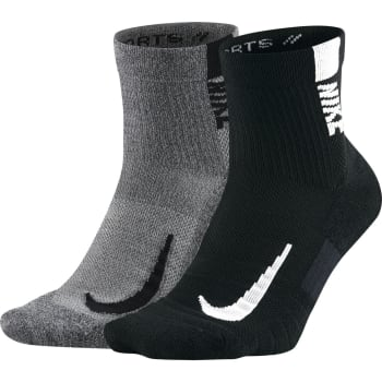 Nike 2 Pack Multiplier Ankle Socks (M) - Sold Out Online