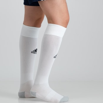 Adidas Milano 16 White Socks 8.5-10