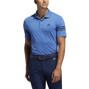 adidas Mens 365 3-Stripe Golf Polo