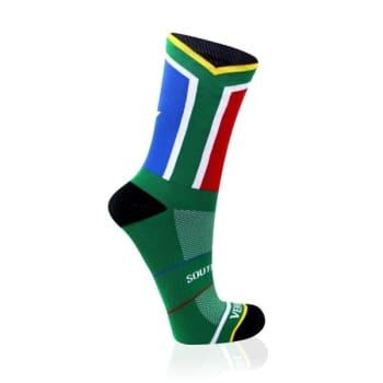 Versus South Africa Flag Socks Size 4-7