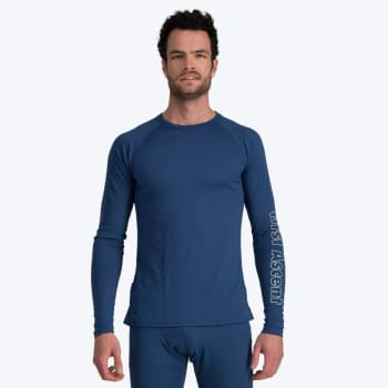 First Ascent Men's Quick Wic Bamboo Long Sleeve Top