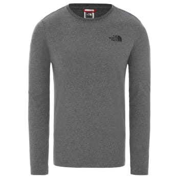 The North Face Men's Long Sleeve Red Box T - Shirt - Sold Out Online