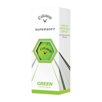 Callaway Supersoft Matte Golf Balls - 3 Ball Pack