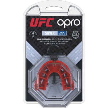 OPRO UFC Silver Junior Mouthguard