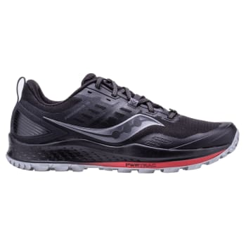 Saucony Men's Peregrine 10 Black Trail Running Shoes