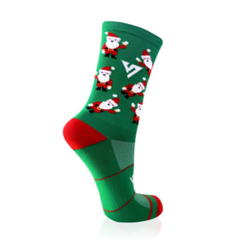 Versus Santa Socks 4-7 ( Performance Active)