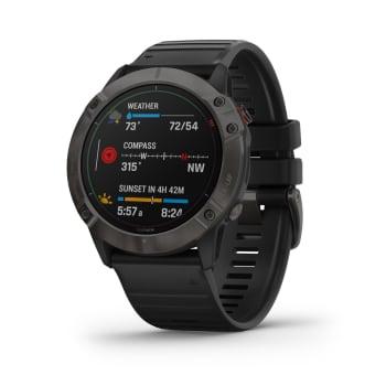 Garmin Fenix 6X Pro Solar Titanium Multisport GPS Watch - Out of Stock - Notify Me